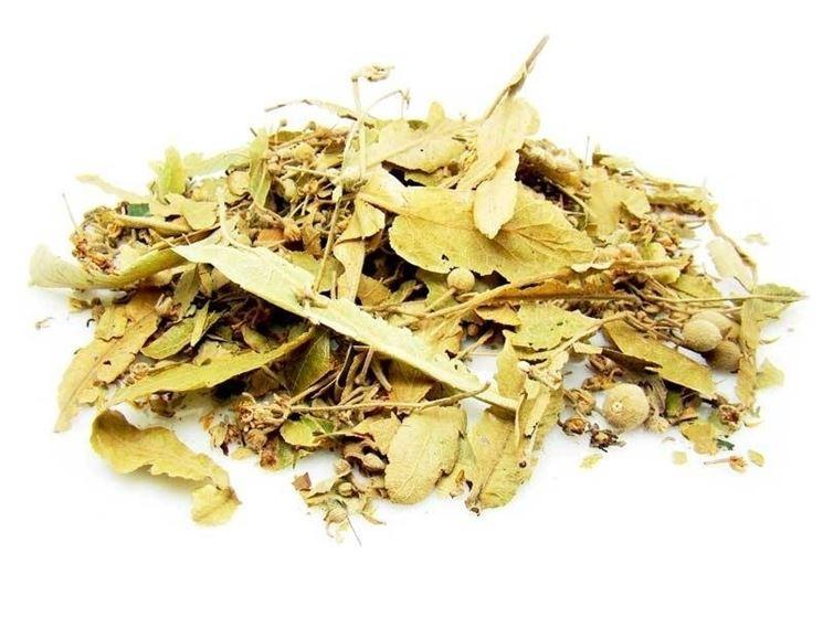 fiori e foglie di tiglio essiccati come conservare